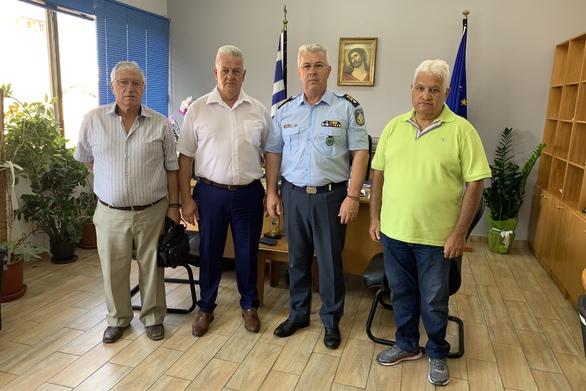 Μέλη του συνδέσμου αποστράτων επισκέφθηκαν τη Γενική Περιφερειακή Αστυνομική Διεύθυνση Δυτικής Ελλάδας