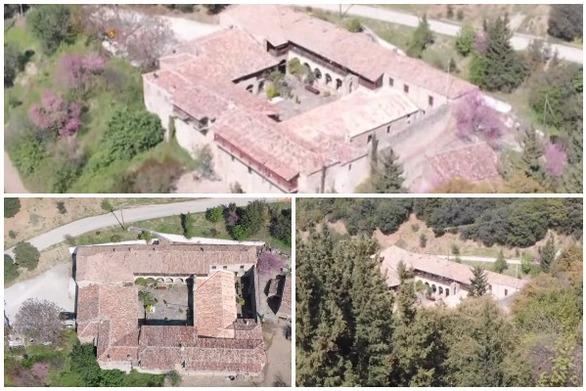 Αχαΐα: Η Ιερά Μονή Βελιμαχίου Τριταίας από μια άλλη πλευρά (video)