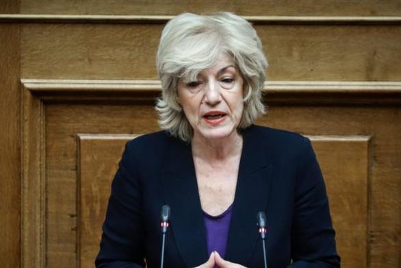 Η ομιλία της Σίας Αναγνωστοπούλου κατά τη συζήτηση και ψήφιση του σ/ν του Υπουργείου Εσωτερικών