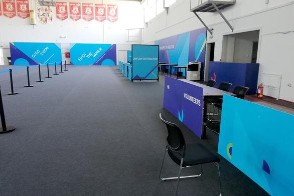 Έτοιμο το κέντρο στολών και διαπιστεύσεων των Μεσογειακών Αγώνων (φωτο)