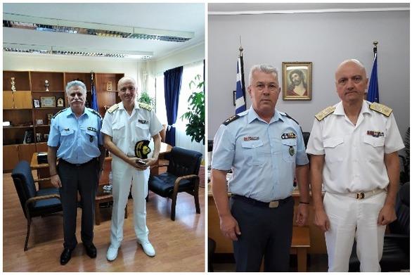 Ο Αρχιπλοίαρχος Σπυρίδων Κοντομάρης, επισκέφθηκε τη Γενική Περιφερειακή Αστυνομική Διεύθυνση Δυτικής Ελλάδας