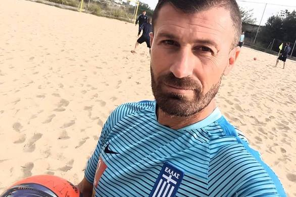 Θεόφιλος Τριανταφυλλίδης - Θα στηρίξει την Εθνική ομάδα beach soccer στους Παράκτιους Αγώνες της Πάτρας