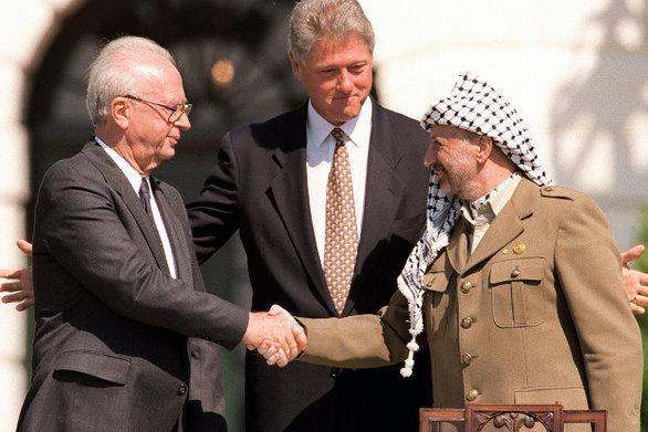 Σαν σήμερα 20 Αυγούστου υπογράφεται η συμφωνία του Όσλο μεταξύ της PLO και του Ισραήλ