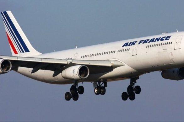 Θρίλερ με αεροσκάφος της Air France από τη Μόσχα