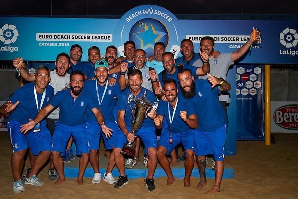 Με την αύρα του χρυσού μεταλλίου, θα έρθει στην Πάτρα η Εθνική ομάδα του Beach Soccer
