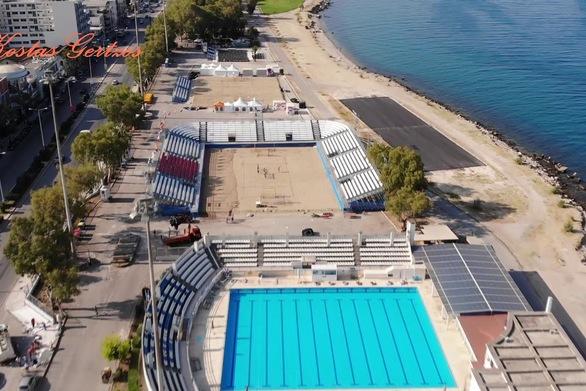 Πάτρα - Μια εναέρια ξενάγηση στους χώρους που θα διεξαχθούν οι Μεσογειακοί Αγώνες (video)