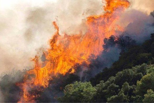 """Στο """"πορτοκαλί"""" σήμερα η Αχαΐα και η Ηλεία για εκδήλωση πυρκαγιάς"""