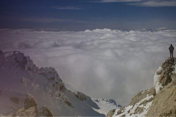 Η χιονισμένη κορυφή της Δίκτης στην κορυφή διαγωνισμού φωτογραφίας