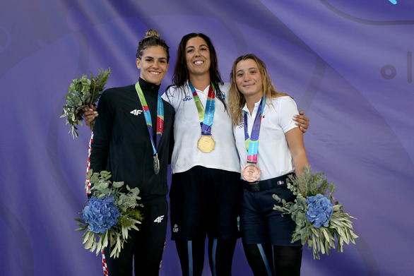 Χρυσό μετάλλιο για την Σοφία Κτενά στο Finswimming