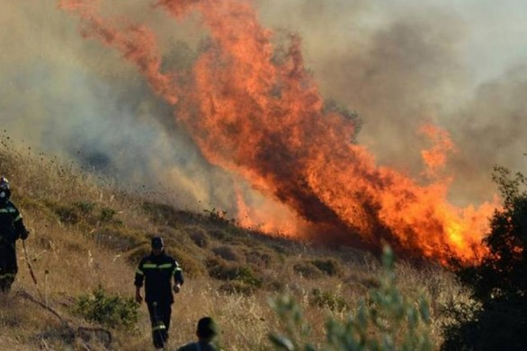 Πολύ υψηλός κίνδυνος πυρκαγιάς την Τετάρτη στην Αχαΐα και την Ηλεία