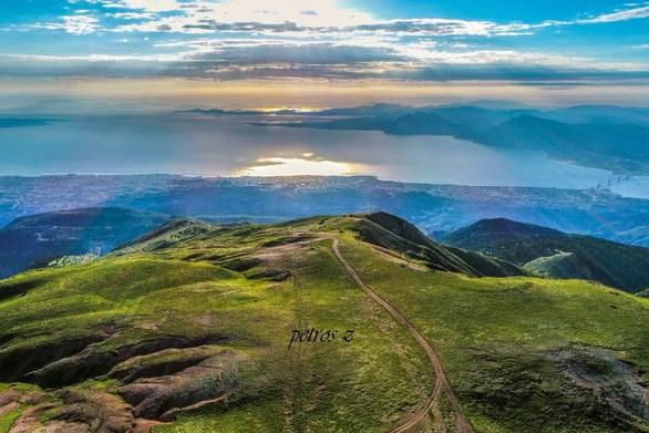 Η θέα από το Παναχαϊκό κόβει την ανάσα! (φωτο)