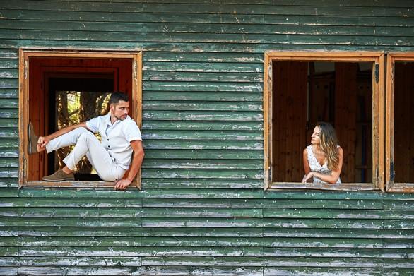 Ανδρέας & Χριστίνα - Ήρθαν από το Σίντνεϊ στην Πάτρα για να παντρευτούν και έδωσαν σόου (video)