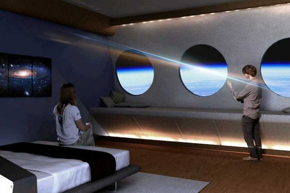 Για το 2025 σχεδιάζεται το πρώτο ξενοδοχείο στο Διάστημα