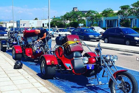 Κάτι από... easy riders στο νέο λιμάνι της Πάτρας