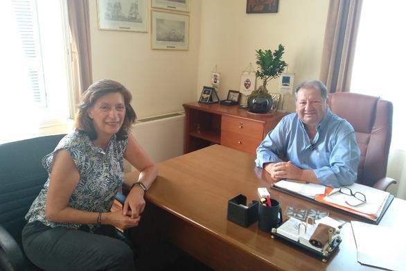 Αιγιάλεια: Συναντήσεις Δημάρχου με τους διοικητές των νοσοκομείων Αιγίου και Ρίου