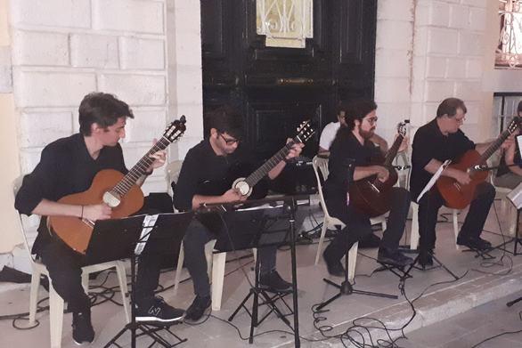 Με επιτυχία πραγματοποιήθηκε η Συναυλία του Patras Guitar Ensseble στην Κέρκυρα (pics+video)