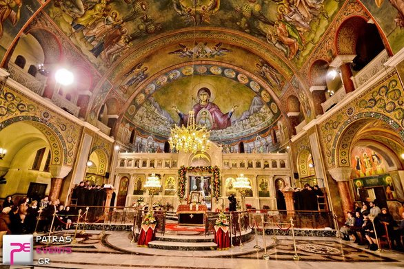 Πόλος έλξης και φέτος για τους τουρίστες ο ναός του Αγίου Ανδρέα στην Πάτρα