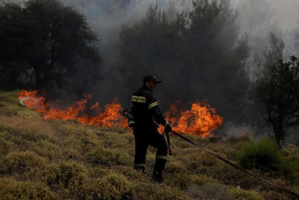 Φωτιά στη Ζάκυνθο καίει δάσος στον Αγαλά