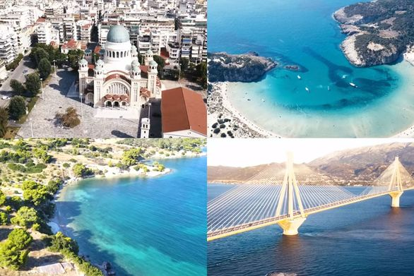 Γνωστές... γωνιές της Πελοποννήσου από μια άλλη οπτική (video)