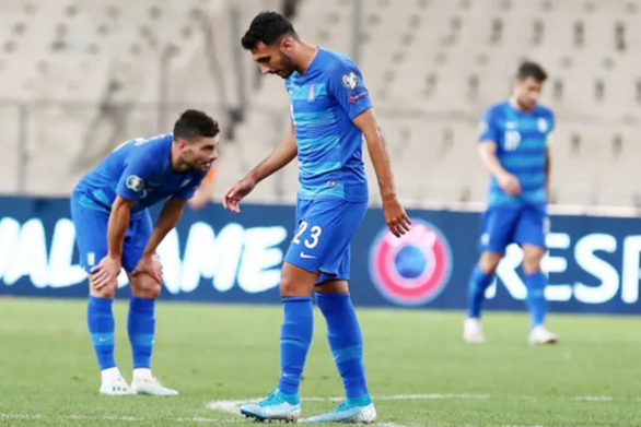 Κατρακύλα για την Εθνική Ελλάδας στο ποδόσφαιρο