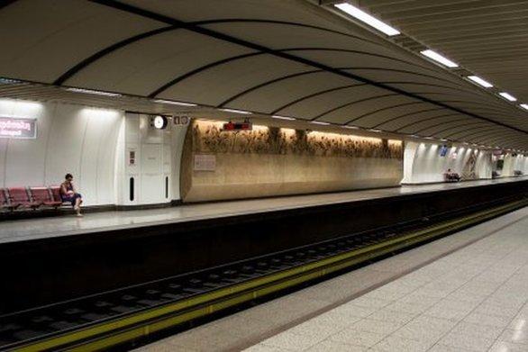 Συναγερμός για πτώση ατόμου στις γραμμές του μετρό στον Άγιο Δημήτριο