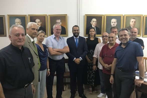 Επίσκεψη του Περιφερειάρχη Δυτικής Ελλάδας, Νεκτάριου Φαρμάκη στον ΣΕΒΠΕΔΕ