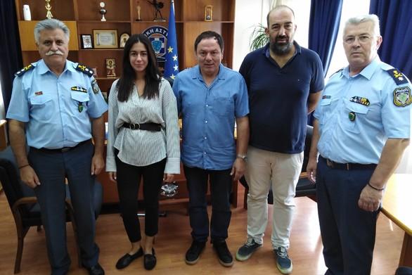 Εθιμοτυπική επίσκεψη του ΣΚΕΑΝΑ στην Αστυνομική Διεύθυνση Δυτικής Ελλάδας