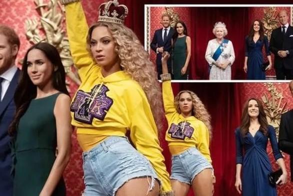 Η Beyonce «εκθρόνισε» τη βασίλισσα Ελισάβετ στο «Μαντάμ Τισό»!