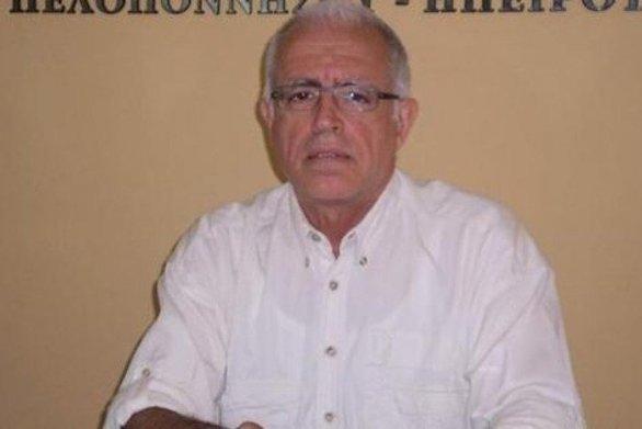 Ανδρέας Μαζαράκης - Συλλυπητήρια στον Λυκούργο Σταυρουλόπουλο για το θάνατο του πατέρα του