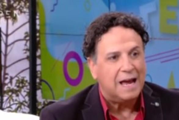 Χάρης Ρώμας: Κάθισε προφίλ σε όλη τη διάρκεια της συνέντευξης σε τηλεοπτική εκπομπή (video)