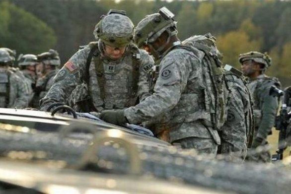 Η Ουάσινγκτον στέλνει 500 στρατιωτικούς στη Λιθουανία