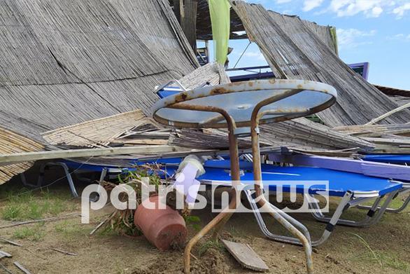 Κουρούτα: Η κακοκαιρία προκάλεσε μεγάλες ζημιές σε κατάστημα (φωτο)