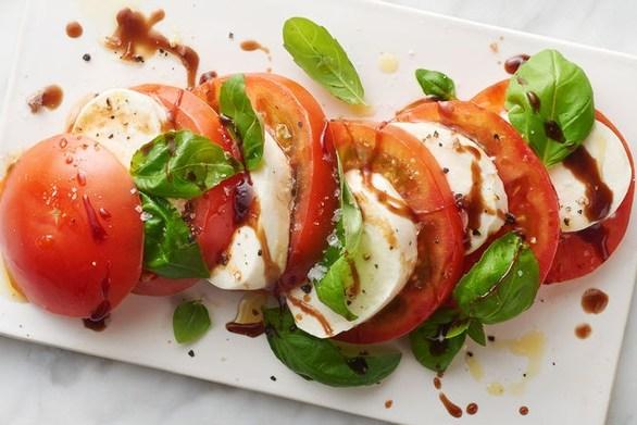 Μία εύκολη συνταγή για την πιο γνωστή ιταλική σαλάτα caprese!