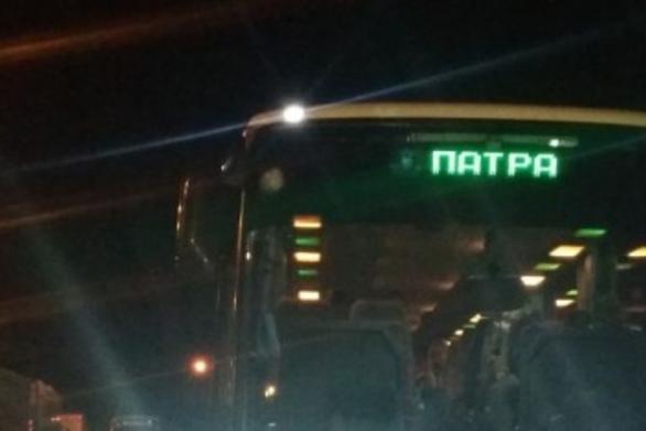 Πέταξαν πέτρες σε λεωφορείου του ΚΤΕΛ Αχαΐας στην Αθηνών-Κορίνθου! (φωτο)