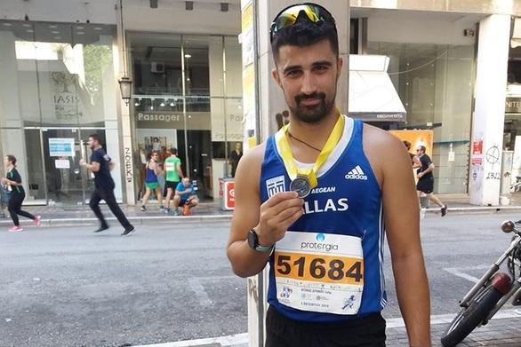 Έκανε μία νέα αρχή ο Κωνσταντίνος Ντεντόπουλος στο Run Greece της Πάτρας