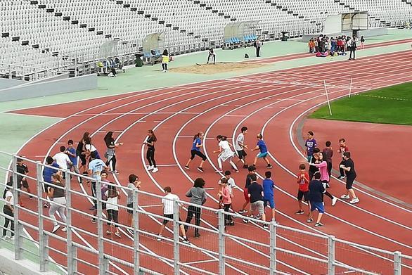 Πάτρα: Tα παιδιά μαθαίνουν να αγαπούν την άθληση στο Παμπελοποννησιακό Στάδιο (φωτο)