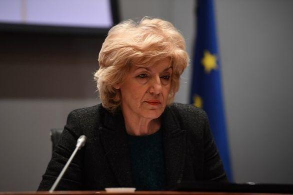 H Σία Αναγνωστοπούλου στην συνεδρίαση της Διαρκούς Επιτροπής Άμυνας και Εξωτερικών Υποθέσεων