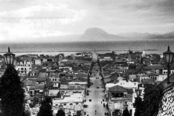 H Πάτρα από τις σκάλες της Αγίου Νικολάου το 1947