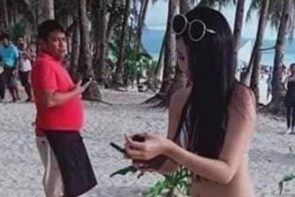 Φιλιππίνες: Έβαλαν πρόστιμο 50 δολαρίων σε τουρίστρια