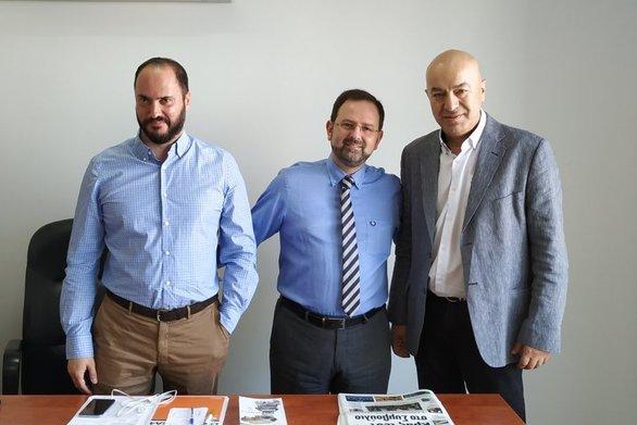 Συναντήσεις Εργασίας του Νίκου Κοροβέση με τους Αντιδημάρχους Τουρισμού Αιγιαλείας και Αγρινίου