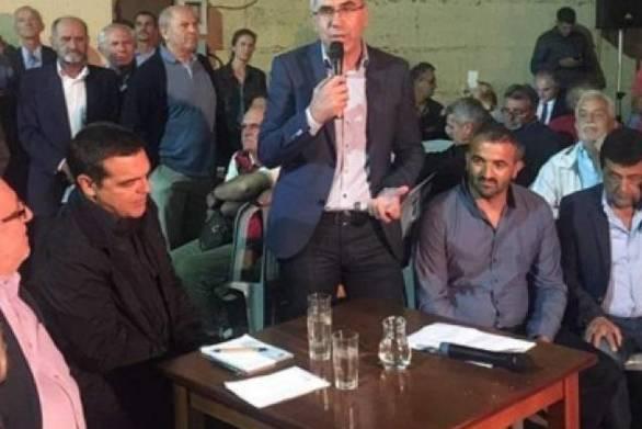 Αχαΐα - Tι ζήτησε ο δήμαρχος Ερυμάνθου Θ. Μπάρης από τον Αλέξη Τσίπρα