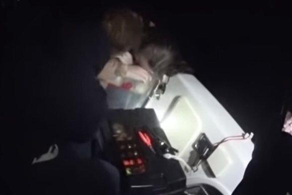 Κρήτη: Βίντεο με τη συγκλονιστική διάσωση 18χρονης από ψαράδες