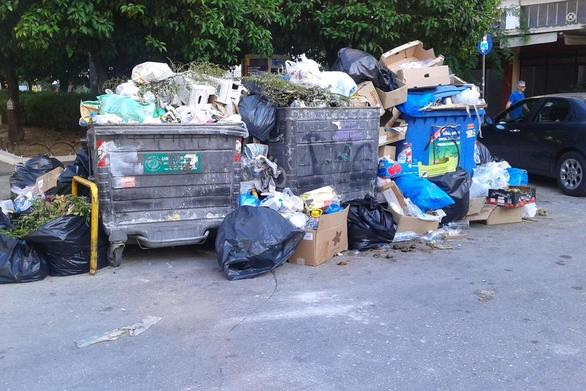 Ξεκίνησαν προβλήματα με τα σκουπίδια στην Πάτρα