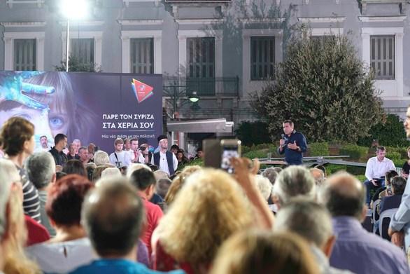 Πάτρα: Ικανοποίηση από τη ροή των εγγραφών στον τοπικό ΣΥΡΙΖΑ