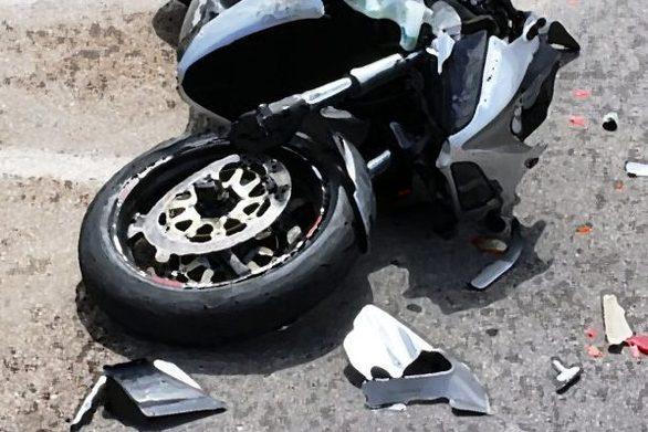 Τροχαίο στην Πάτρα με τραυματισμό ενός νεαρού οδηγού δικύκλου