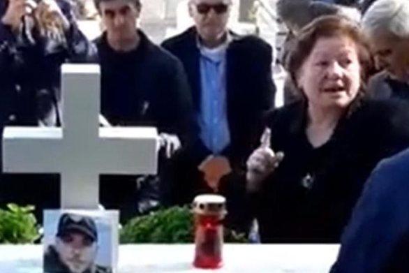 Μνημόσυνο Κατσίφα: «Λεβέντη μου δεν θα ξεριζώσουν το έθνος μας»
