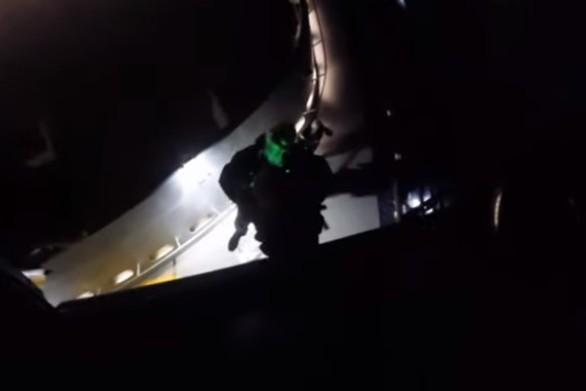 Νυχτερινή αερομεταφορά ασθενούς με ελικόπτερο του Πολεμικού Ναυτικού (video)