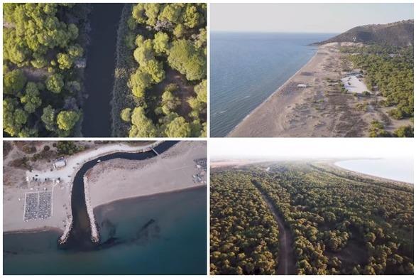 Καλόγρια - Ένας παράδεισος στην Αχαΐα, με πεύκα, αμμόλοφους και καταγάλανα νερά (video)