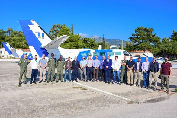 Εκπαιδευτική δράση του Frontex για την προετοιμασία των πληρωμάτων αέρος (φωτο)