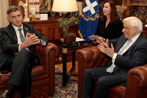 Παυλόπουλος και Πλένκοβιτς συζήτησαν για την διεύρυνση της ΕΕ